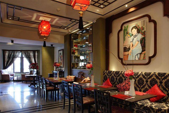 Cotton Restaurant, Shanghai Mansion, Chinatown Bangkok