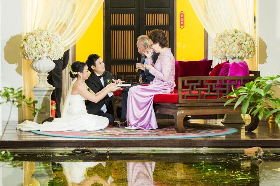 Classic Chinese Wedding Tea Ceremony