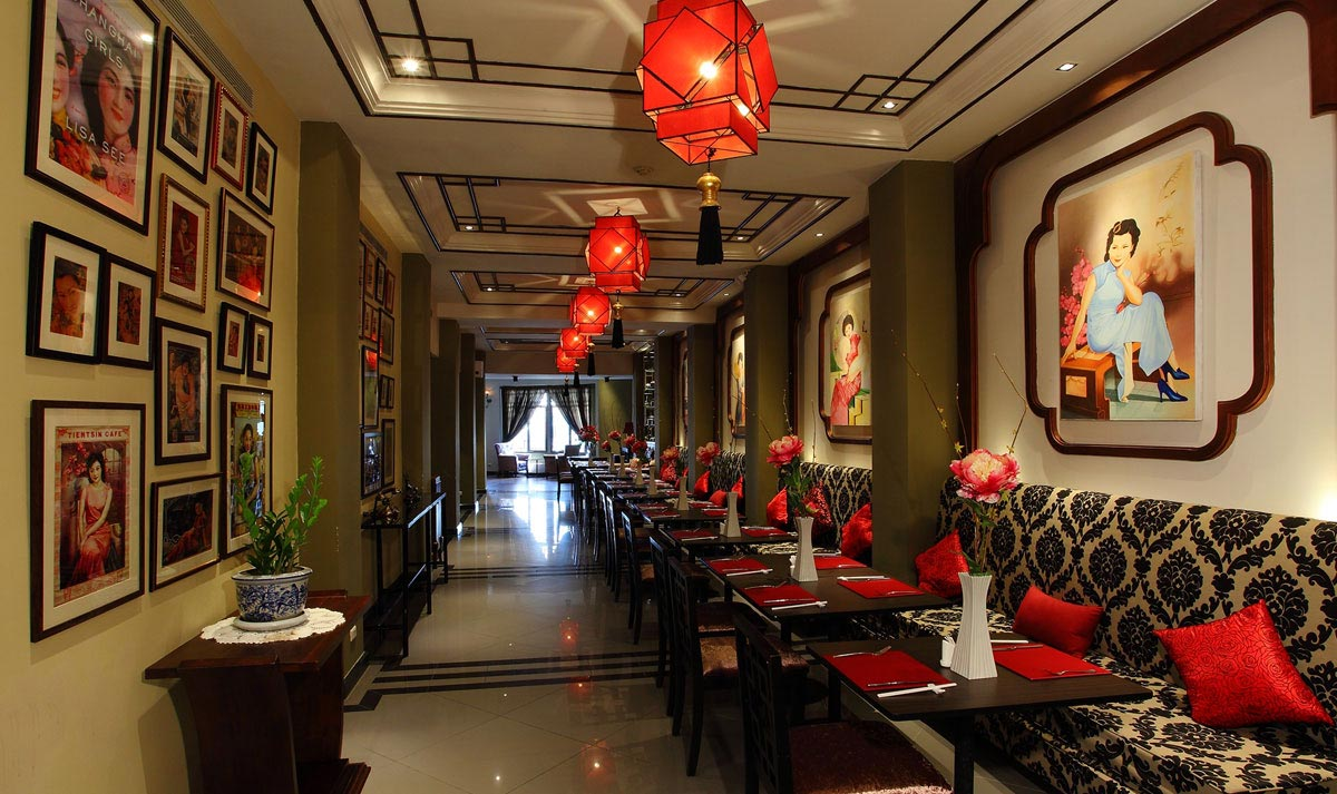 Chinese Restaurant In Hotel Bangkok